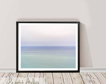 Ocean Photography Wall Art Print, Digital Download,Beach Print, Printable Large Poster, Beach Photography, Wall Printable decor
