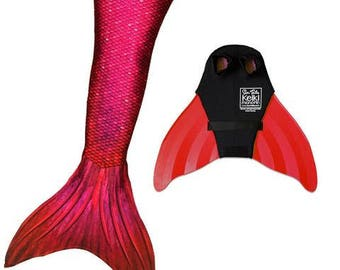 Fiji Red Mermaid Tail