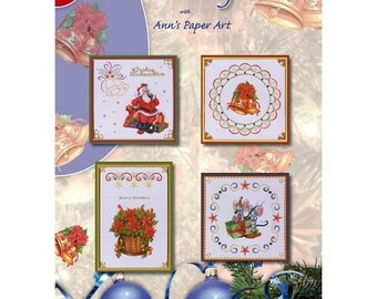Book 8 3D pattern cards to embroider No. 16 leaves