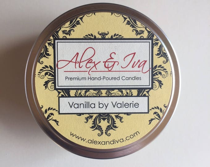 Vanilla By Valerie - 8 oz. tin