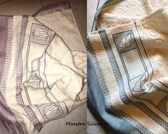 2 SCHEMI PDF Asciugamano Calle Tulipano - 2 Patterns Towel Tulip + Calla