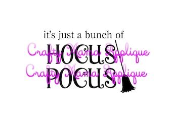 Hocus Pocus Halloween SVG, PNG,JPG. Silhouette files. Halloween svg.
