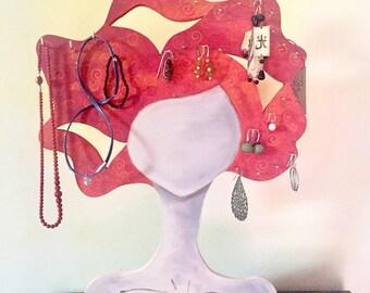 Lady jewelry holder