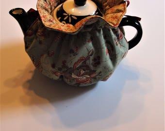 Tea Cozy, Tea Pot Cozy, Tea Pot Jacket, Tea Pot Warming Jacket, Insulated Tea Pot Cozy, Tea Pot Warmer, Cotton Tea Cozy, Tea Time Cozy