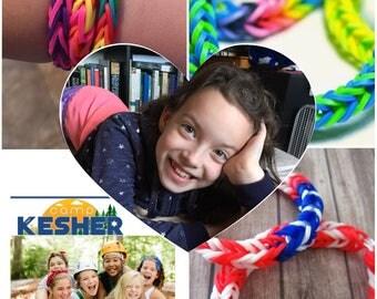 Rainbow Loom Bracelets made by Ellie