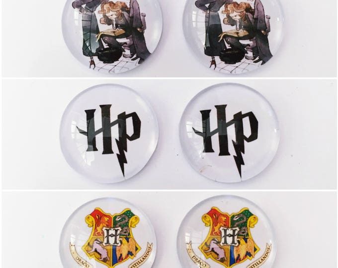 The 'Harry Potter' Glass Earring Studs