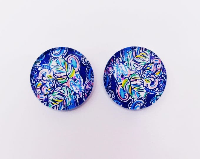 The 'Charlotte' Glass Earring Studs