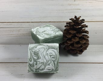 Christmas Forest Cold Process Soap