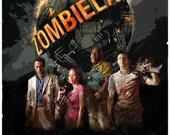 Sale on NOW zombieland left 4 dead 2 pc  game Poster Print In A3 #retrogaming please read description