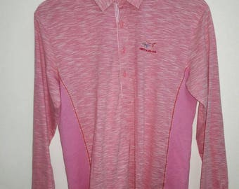 vintage greg norman pink color sports medium size