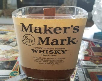 Makers Mark - scent: chocolate