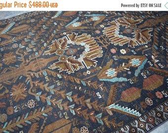 SALE 45% OFF 5'8 x 3'11 FT Tribal Afghan Zakani rug