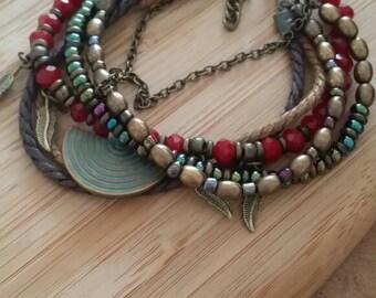 Bracelet, beaded Bracelet,wrap bracelet, gypsybracelet,hippie Bracelet, boho,boho Jewelry, gypsy Jewelry, Wholesale jewelry