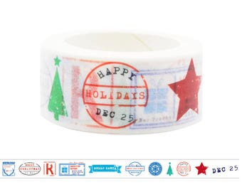 ST5 Happy Holidays Washi Tape