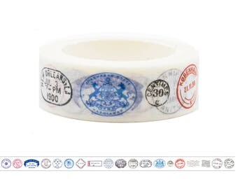 Traditional Stamps Washi Tape