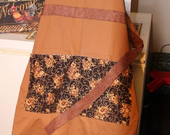 Brown Country Apron