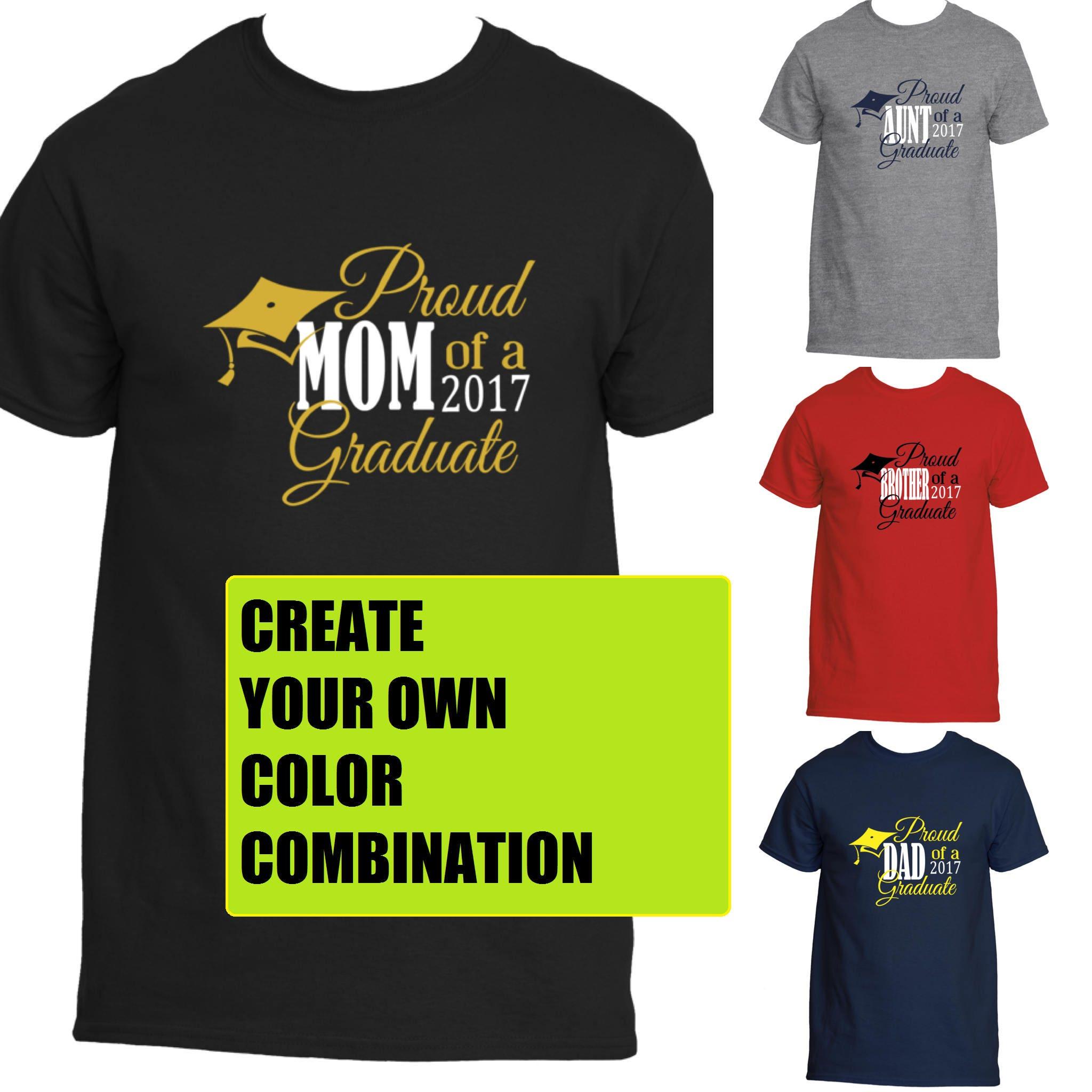 Proud Family Graduation Shirt Proud Mom Shirt Proud Dad