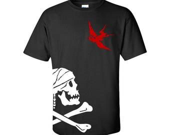 Kids Captain Jack Sparrow Flag T-Shirt | Pirates of the Caribbean