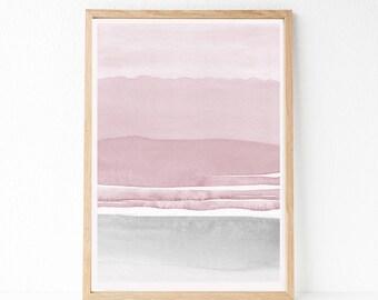 OVERSIZED Print, 24x36 Abstract Printable Art, Large Wall Art, 24x36 Print, Large Living Room Art