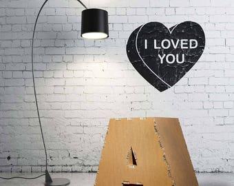 Cardboard furniture nightstand Alphabet letters