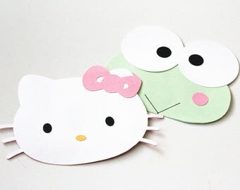 Hello Kitty and Keropie Invitations | Other Colors Available
