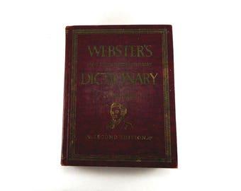 Vintage Webster's New Twentieth Century Dictionary Unabridged Second Edition - 1955 Micro - ZYTH And Supplaments