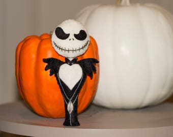Jack skellington mini plush. Mr. Jack the nightmare before Christmas / nightmare before christmas