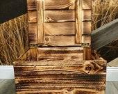Holzkiste mit Deckel. Truhe,Spielzeugkiste, Holzkiste, Holztruhe, Aufbewahrung, Spielekiste, Spielzeugkiste,Kinderzimmer,Wäschekiste,Laundry