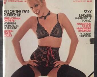 Penthouse Magazine - October 1977