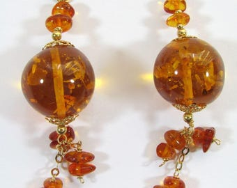Yellow Gold and amber