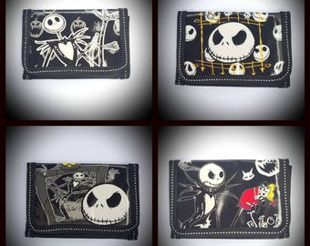The nightmare before Christmas inspired wallet