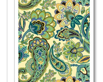 Paisley Greeting Card