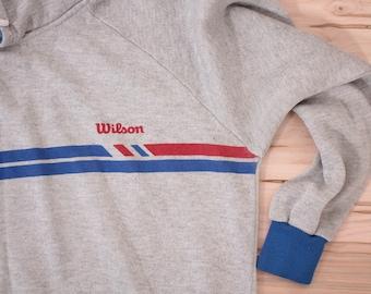 Vintage Wilson hooded sweatshirt