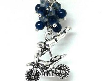 Motocross christmas ornament
