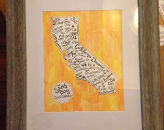 Personalized State Memory Art