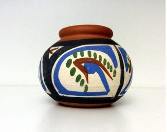 Vintage Handmade Red Clay Pottery from Venezuela