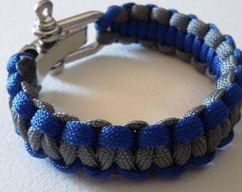 Mens adjustable Paracord Bracelet