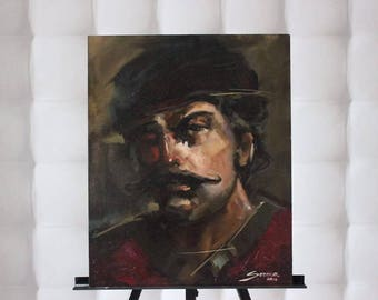 Picture on canvas Oil Paintings Oil painting,Portrait of a Man