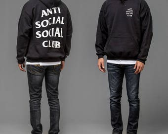 Anti Social Social Club, Antisocial Social Club Hoodie, Yeezus Hoodie, Kanye West, I Feel Like Pablo, Best Gift Idea, Supreme , Unisex
