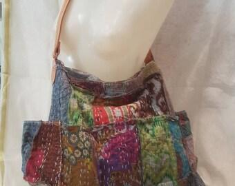 Boho, ethnic bag, bag patchwork bag