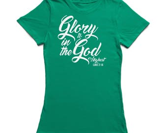 Glory To God In The Highest Women's T-shirt
