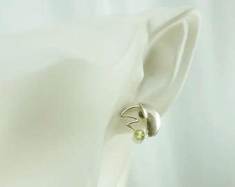 Sterling Silver Bounce Earrings