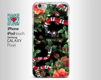 Gucci Snake Floral iPhone 7 case iPhone 7 plus case Gucci iPhone 6s case iPhone 6 iPhone 6s plus iPhone 6 plus iPhone 5s case iPhone SEYI033