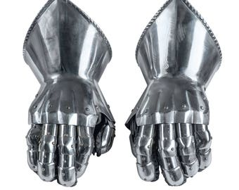 The Paladin Gauntlets SCA LARP Combat gauntlets Fantasy gauntlets Armour Fantasy armor SCA gauntlets Larp mitten sca mitten sca gauntlets