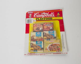 vintage Campbell's playfood new in box