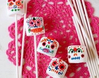 Day of the Dead / Dia de los Muertos Marshmallow Pops
