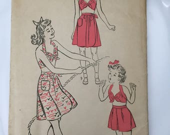 Advance dress pattern 3899 uncut