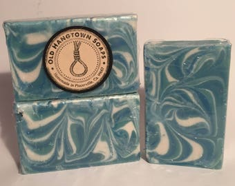 Clearance!!, Spa Mint Medley Soap, Cold Process Soap, Homemade Soap, Handmade Soap, Vegan Soap