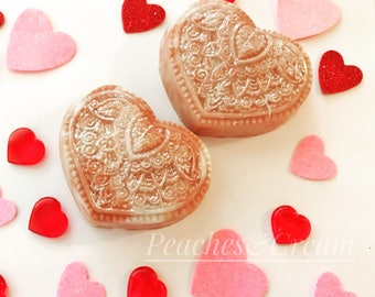 Be My Love - Valentine's Soap - heart soap