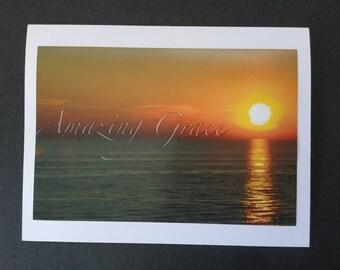 Nature Photo Card - Sunset AG